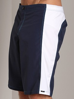 GrigioPerla Nero Perla Capo Verde Long Shorts Blue