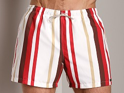 GrigioPerla Madagascar Yachting Long Shorts Panna