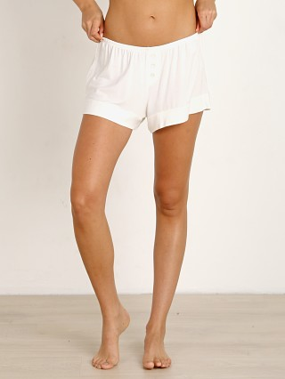 Complete the look: Eberjey Agnes Boyfriend Short Ivory