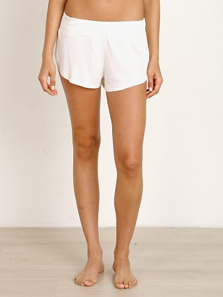 Complete the look: Eberjey Elon Track Short Ivory