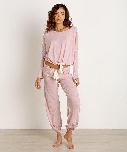 Eberjey Heather Slouchy Tee Cashmere Rose