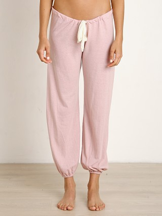 Eberjey Heather Cropped Pant Cashmere Rose
