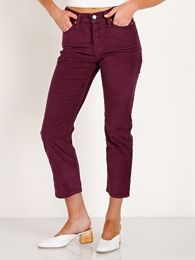 Levi's Wedgie Straight Leg Cord Potent Purple Cord