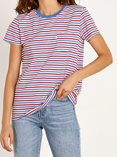 Levi's The Perfect Crew Red Blue