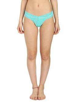Hanky Panky Low Rise Thong Bay Breeze