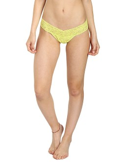 Hanky Panky Low Rise Thong Key Lime