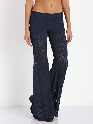 Nightcap Spanish Lace Pant Midnight