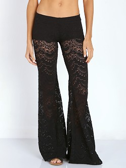 Nightcap Spanish Lace Pant Black