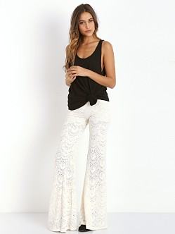 Nightcap Spanish Lace Pant Ivory