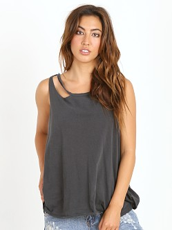 LNA Clothing Aura Tank Vintage Black