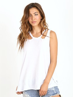 LNA Clothing Aura Tank White