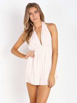 Somedays Lovin Blessings Halter Playsuit Light Pink