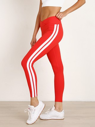 Complete the look: Year of Ours Racer Legging Red White