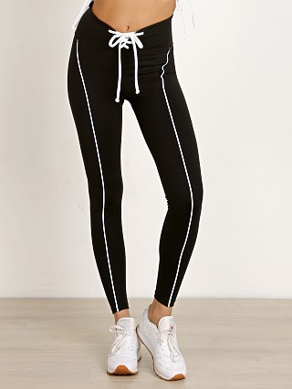 Year of Ours Football Legging Black White