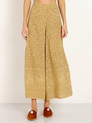 Spell & The Gypsy Wild Thing Wide Leg Pant Mustard Leopard