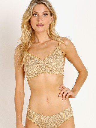 Spell & The Gypsy Wild Thing Bralette Mustard Leopard