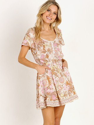 Spell & The Gypsy Jungle Mini Dress Cream