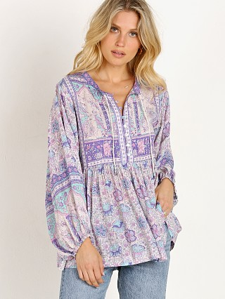 Spell & The Gypsy Poinciana Blouse Lilac
