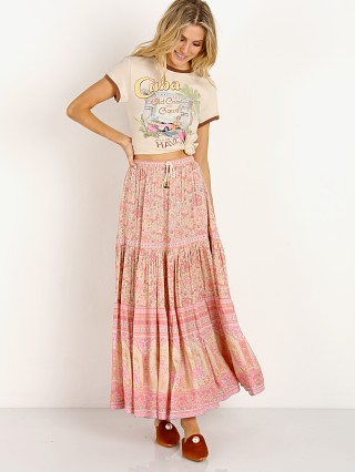 Complete the look: Spell & The Gypsy Poinciana Maxi Skirt Pink