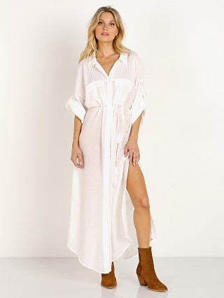 Spell & The Gypsy Linda Shirt Dress White
