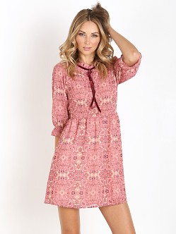 For Love & Lemons Geneva Mini Dress Sienna Print