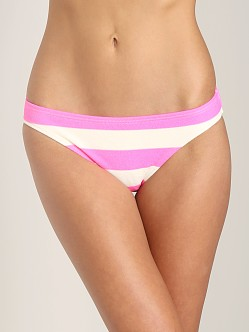 Juicy Couture Sixties Stripe Classic Bottom Shell Shock