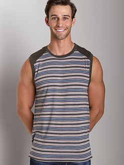 Splendid Mills Charlie Stripe Muscle Tee Trooper