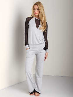 Beach Bunny Love Haus Dreamy Lounge Pant Heather Grey