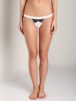 Beach Bunny Love Haus Classy Couture Panty Blush/Black