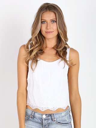 Winston White Daria Crop White
