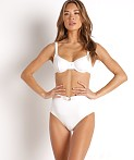 Faithfull the Brand Maeve Bikini Top White, view 2