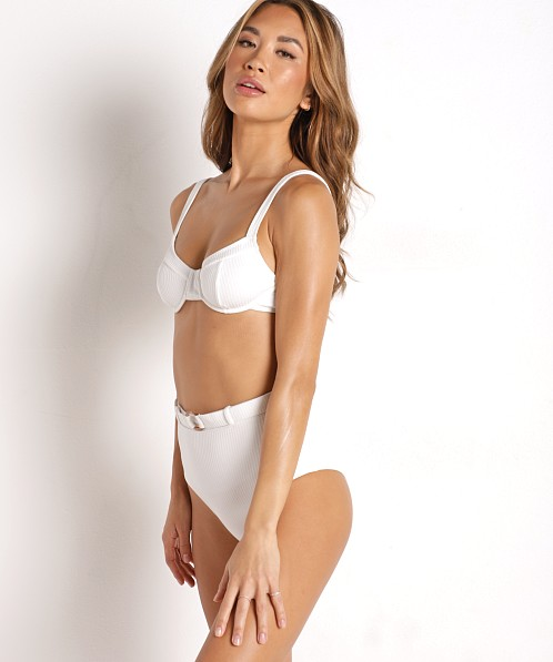 Faithfull the Brand Maeve Bikini Top White
