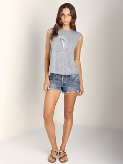 A Fine Line Abby Tank Party Dolphin Heather Grey
