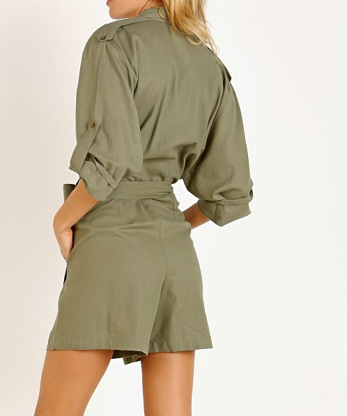 Jen's Pirate Booty Imperial Jumpsuit Military Green