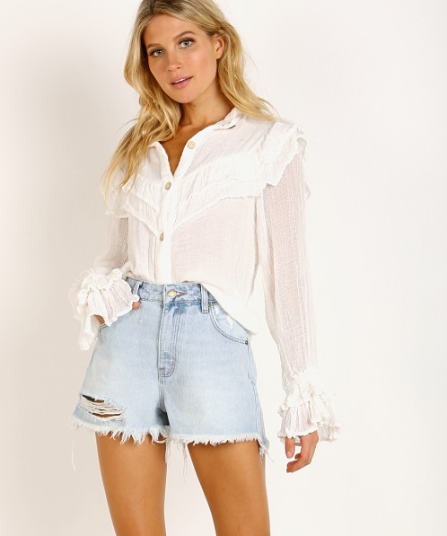 Jen's Pirate Booty Hope Blouse White