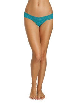 Hanky Panky Low Rise Thong Dark Teal