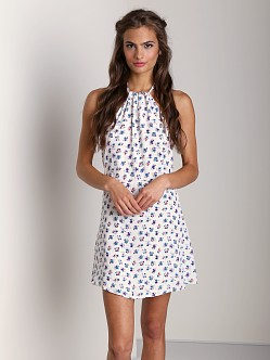Stone Cold Fox Modest Dress Petal Print