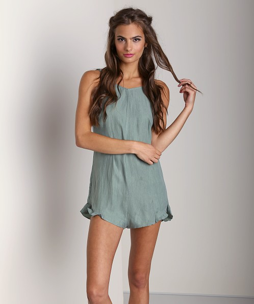 Stone Cold Fox Amour Jumper Sea Green