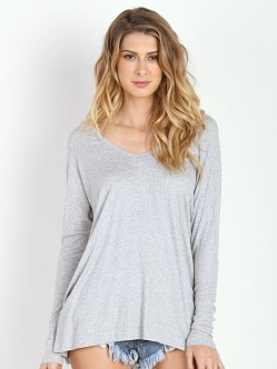 Joah Brown For Keeps V Neck Grey