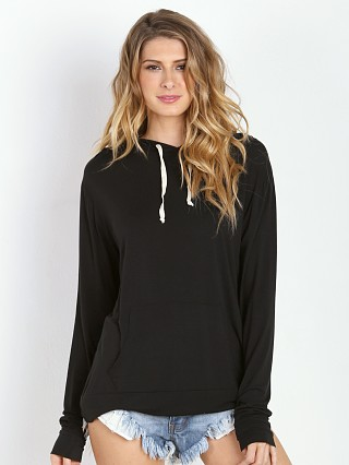 Joah Brown Bungalow Hoodie Black