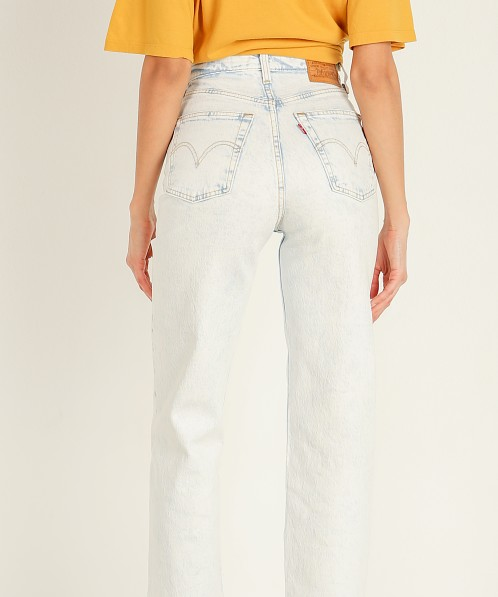 Levi's Ribcage High Waist Straight Ankle Jeans Lose your Marbles