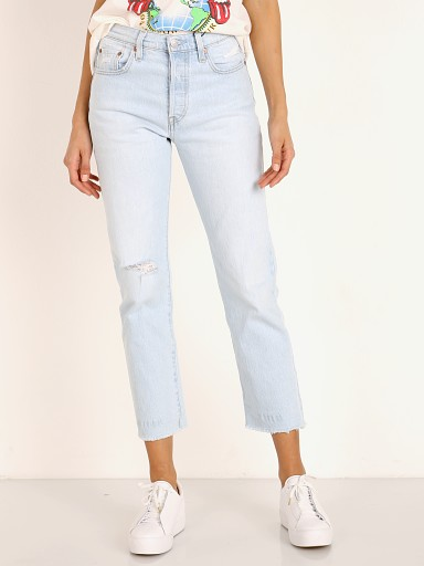 Levi's 501 Crop Jean Shout Out