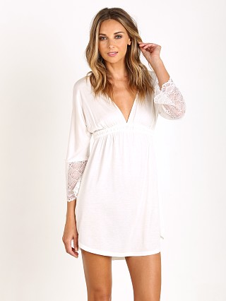 Only Hearts Venice Shirttail Night Dress Antique White