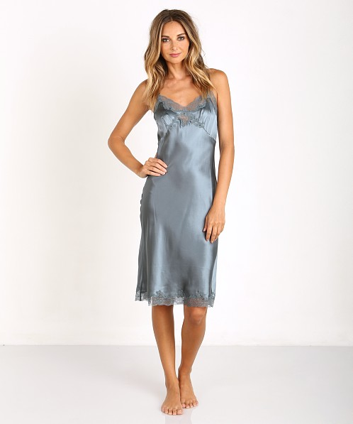 Top Only Hearts Silk Knee Length Slip Stormy 30303 - Free Shipping at  ZP16