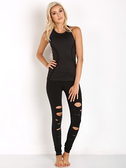 SOLOW Deconstructed Legging Black