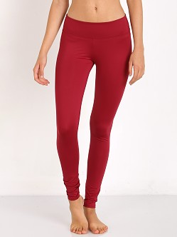 SOLOW High Impact Legging Merlot