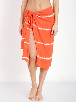 Indah KANGA Sarong Garis Orange