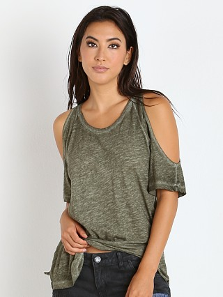 LNA Clothing Ella Tee Moss Antique Wash