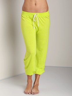 Nation LTD Medora Capri Sweats Lime