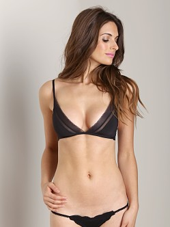 Calvin Klein Icon Triangle Bra Black